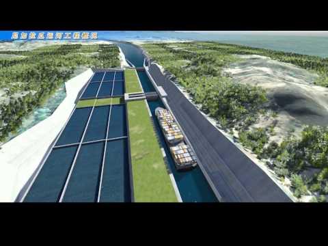 La presentazione del Gran Canal Interoceanico del Nicaragua