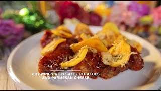 Video Chef's Table - Hot Wings with Sweet Potatoes & Parmesan Cheese MP3, 3GP, MP4, WEBM, AVI, FLV September 2018