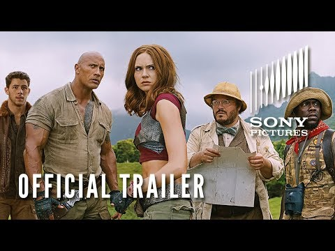 JUMANJI: WELCOME TO THE JUNGLE - Official Trailer #2 (видео)