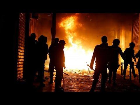 Nach Tod eines Straßenhändlers in Madrid: Schwere Z ...