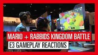 Relive the exciting announcement of Mario + Rabbids Kingdom Battle with Creative Director Davide Soliani and see what players love about Mario + Rabbids Kingdom Battle!