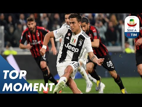 La Joya levels the score with a penalty! | Juventus 2-1 Milan | Top Moment | Serie A - Thời lượng: 68 giây.