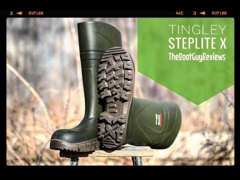 Tingley Steplite X [ The Boot Guy Reviews ]