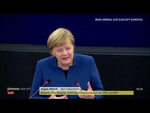 Rede von Bundeskanzlerin Angela Merkel zur Zukunft de ...