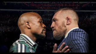 Conor McGregor releases a statement on signing contract to fight Floyd Mayweather in a boxing match.