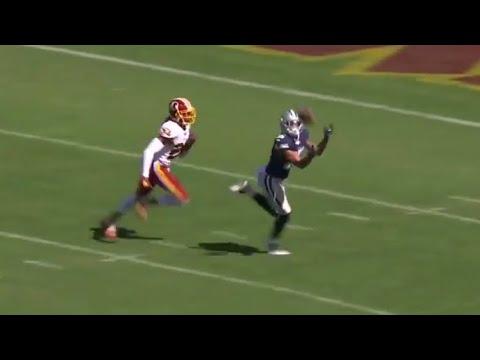 Dak Prescott 51-yard TD dime to Devin Smith // Dallas Cowboys vs. Washington Redskins touchdown