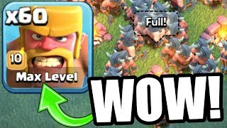 Video FIRST EVER MAX LEVEL TROOP! - INSANELY OP LvL 10 RAGED BARBARIANS BUILDERS VILLAGE! - Clash Of Clans MP3, 3GP, MP4, WEBM, AVI, FLV Oktober 2017
