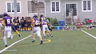 Week 2 - Pee Wee Warriors 58 vs Vikings 6