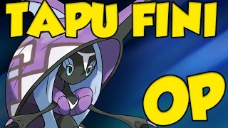 How to Use Tapu Fini! Pokemon Sun and Moon Tapu Fini Moveset and Tapu Fini Guide by Verlisify