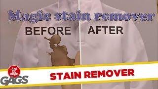Magic Stain Remover Prank