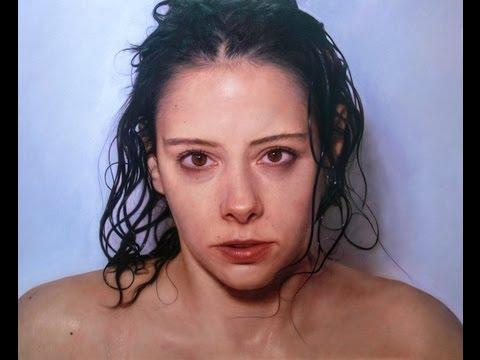 Large portrait using oil paint