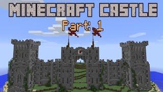 Building a Minecraft Castle - Part 1