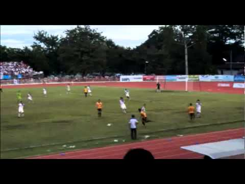 เทปบึนทึกภาพไฮไลต์การแข่งขันAIS REGIONAL LEAGUE 2013 ภาคเหนือ ระหว่างลำพูน วอริเออร์ ปะทะ เชียงใหม่ FC