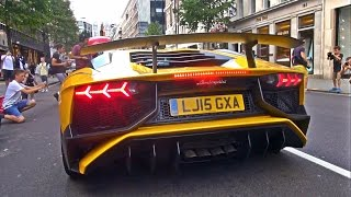 The brand new Lamborghini Aventador SV making some sound from its V12 engine boasting 750bhp! Cannot wait to hear one with a custome exhaust.