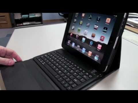 folio - A review of the iPad Folio Case with built in Bluetooth keyboard. Bought from GEARZAP.COM.