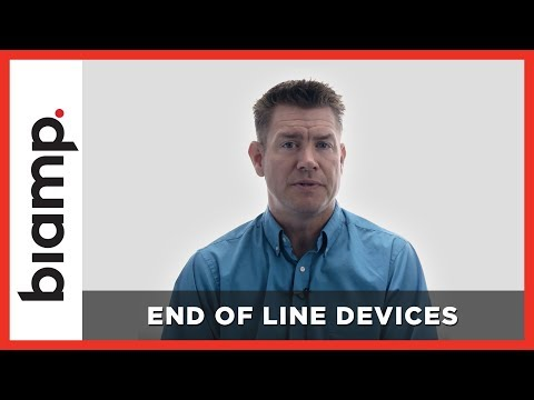 Biamp Vocia: End of Line Devices