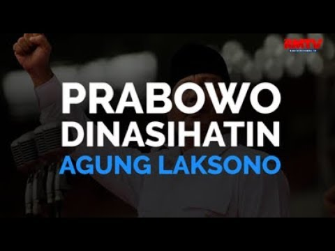 Prabowo Dinasihatin Agung Laksono