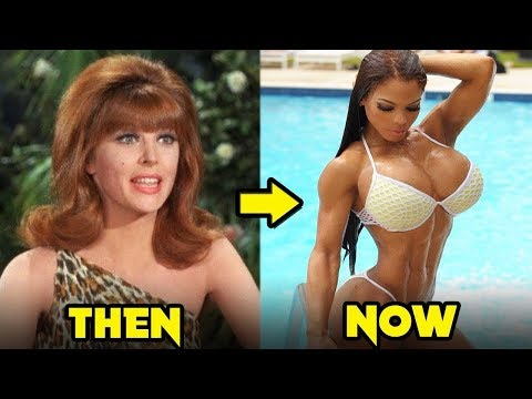 Gilligan's Island 1964 1967 Cast   Then and Now 2019
