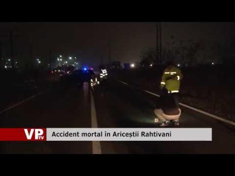 Accident mortal în Ariceștii Rahtivani
