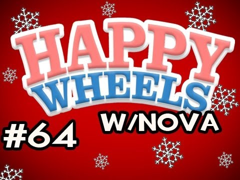 Happy Wheels HOLIDAY MARATHON w/Nova Ep.64 - Christmas City Video