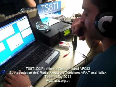 TS8TI DXPedition to Djerba Island AF083 - by ARAT and Italian Team