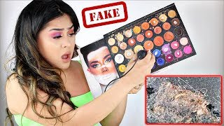 *FAKE JAMES CHARLES PALETTE* Under a MICROSCOPE! OMG