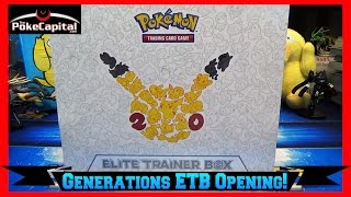 Pokemon Cards Generations Elite Trainer Box Opening by ThePokeCapital