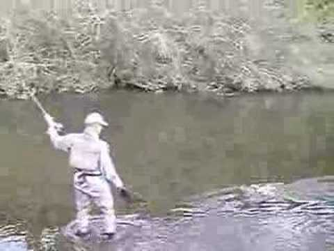 Small stream fly fishing, New Zealand: bloopers
