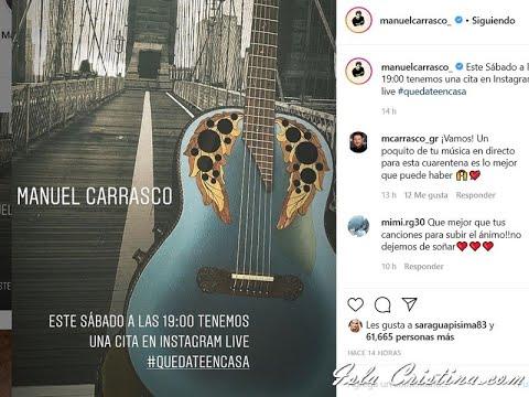 Concierto Manuel Carrasco #lacruzdelmapaenmicasa