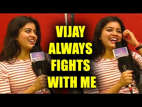 Vijay Always Fights With Me But So Calm : Actress Amritha Open Talk Interview On Shooting Experience