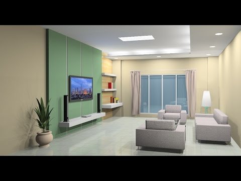 Interior design tutorial using Google Sketchup