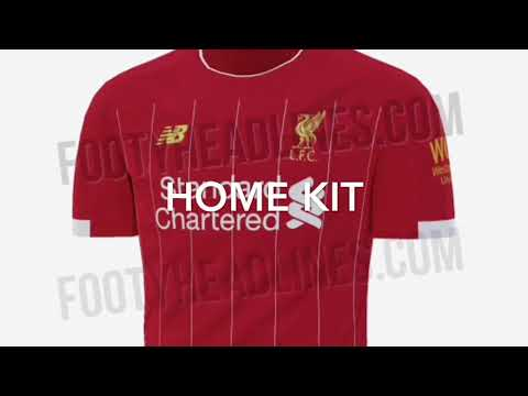 Leaked Liverpool 2019/20 Home Kits