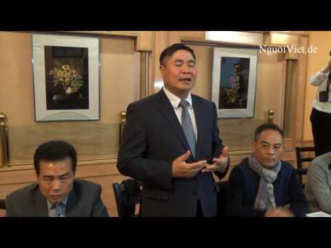 ĐS Đoàn Xuân Hưng phát biểu về việc quyên góp ủng hộ miền Trung