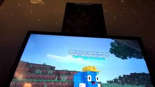 Showing off my Minecraft map read disc