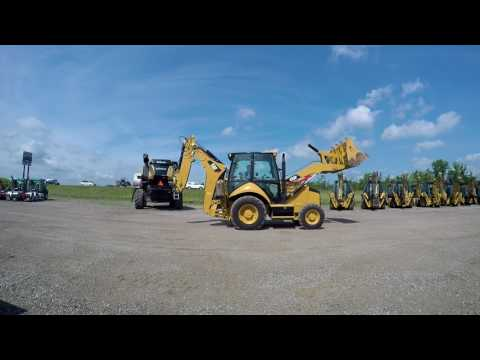 CATERPILLAR RETROEXCAVADORAS CARGADORAS 420FST equipment video v_xUa_JL5Qc
