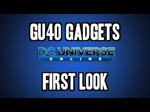 DCUO – Gadgets – Awesome Mechanic – First Look!