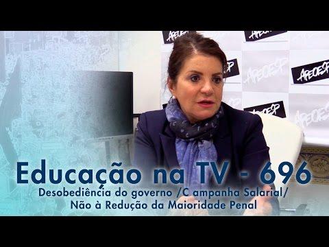 Desobediência do governo / Campanha Salarial / Não à Redução da Maioridade Penal