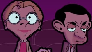 MrBean - Mr Bean - watching a romantic film