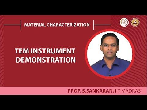 TEM instrument demonstration