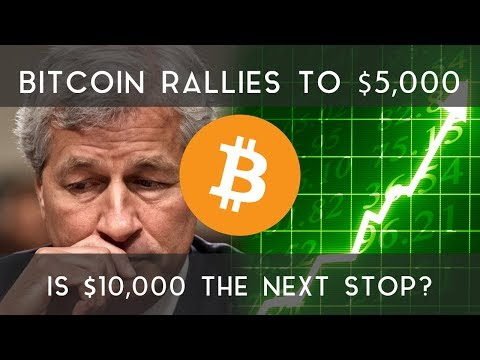 BITCOIN RALLIES TO $5,000 | Could $10,000 be the next stop? video