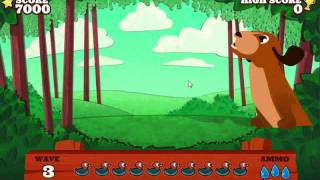 Super Paper Duck Hunt HD FREE YouTube video