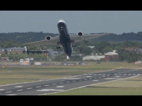 Rajua lentämistä matkustajakoneella – Boeing 787 saa kyytiä