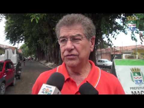 Prefeito Rui Palmeira vistoria melhorias em Bebedouro