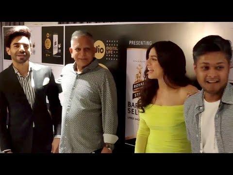 Aparshakti Khurana And Sapna Pabbi At Jio MAMI Film Festival 2019