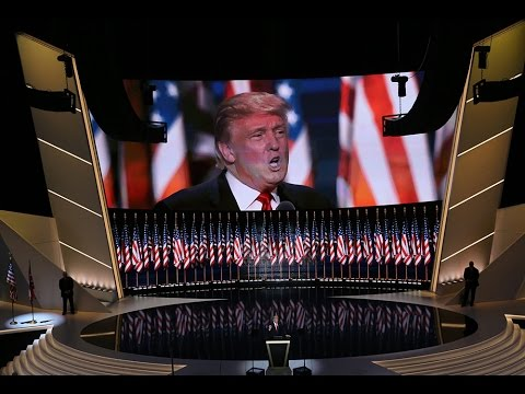 Watch Presidential Candidate Donald Trump's full speech at the 2016 Republican National Convention