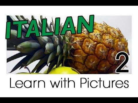 Früchte - Italienische Vokabeln