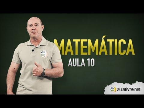Matemática - Aula 10 - Logarítmos