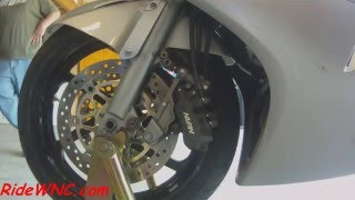 10. 6th Generation VFR800 Front Wheel Removal