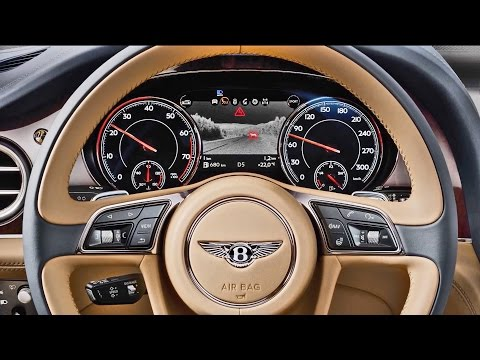 BENTLEY BENTAYGA 2016 | TECHNOLOGY @BentleyMotors