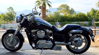 9. 2004 Kawasaki Vulcan 1600 Mean Streak VN1600 For Sale www.samscycle.net